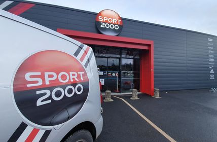 vehicule livraison Sport 2000