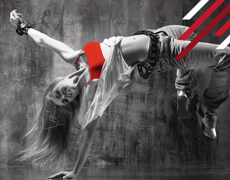 femme qui danse du hip-pop