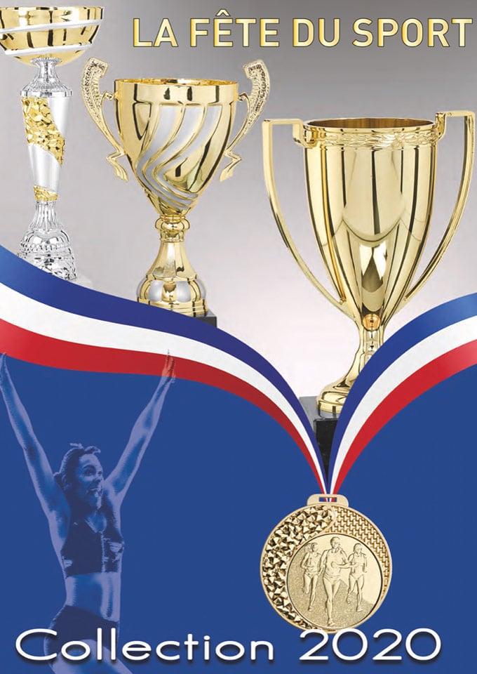catalogue coupes medailles trophe